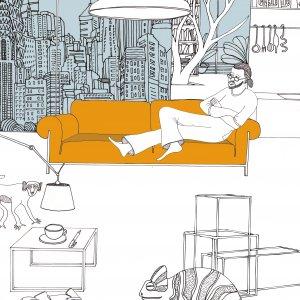 Ron Gilad sul suo divano