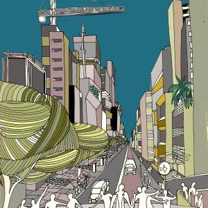 Avenida Faria Lima,  Sao Paulo