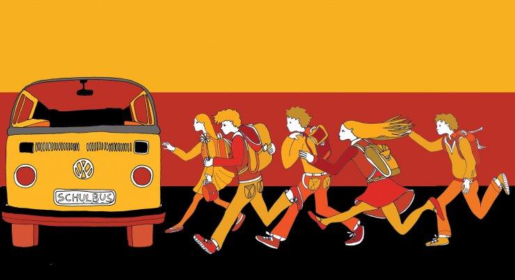 Anna Sutor - School bus
