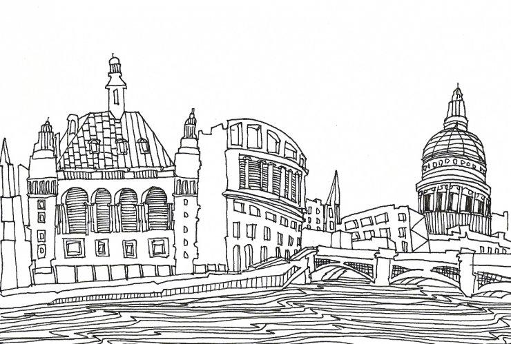 Anna Sutor - Londra sull'acqua