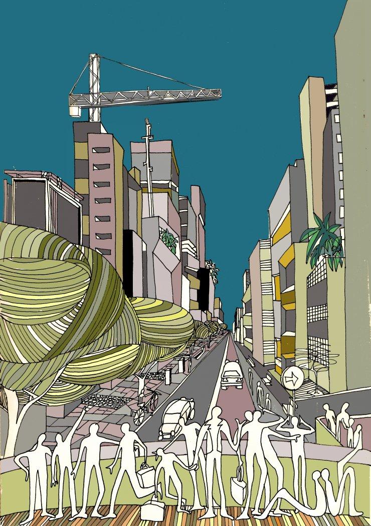 Anna Sutor - Avenida Faria Lima, Sao Paulo