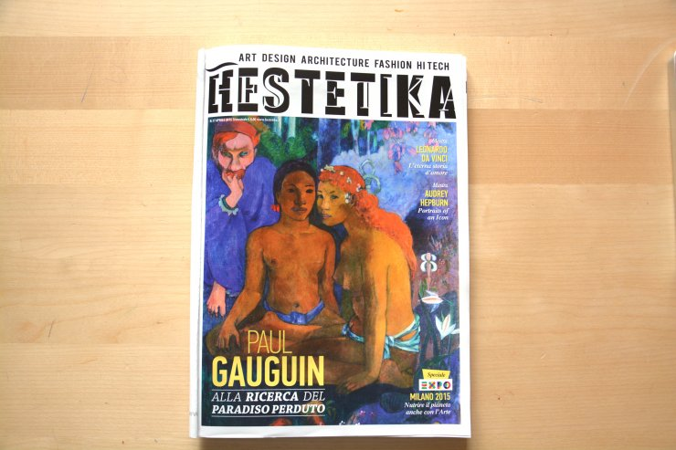 Anna Sutor - Interview on the magazine Estetika