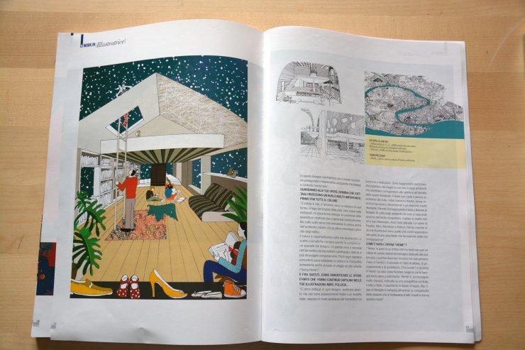 Anna Sutor - Interview on the magazine Estetika